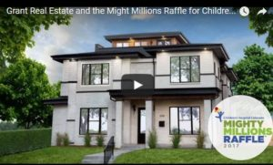 video,mighty millions raffle, grant real estate, 2017