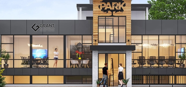 A rendering of Park's first phase. (Courtesy Aaron Grant)